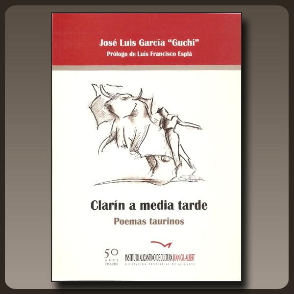 Portada del libro de Guchi Clarín a media tarde