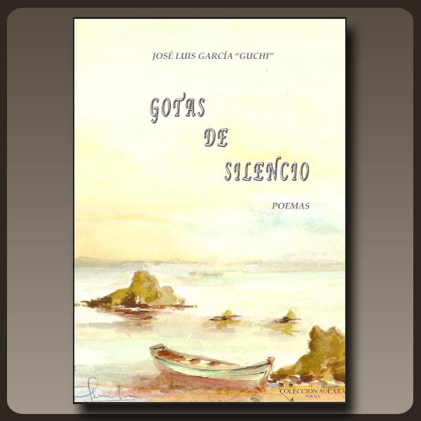 Portada del libro de Guchi Gotas de silencio